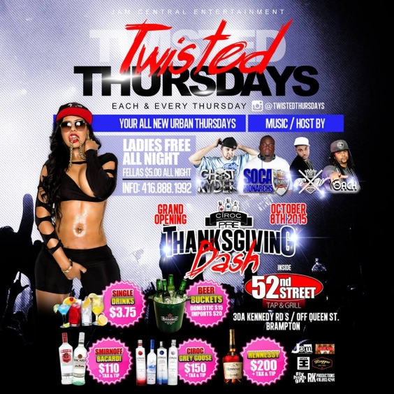 Grand Opening Of TWISTED THURSDAYS