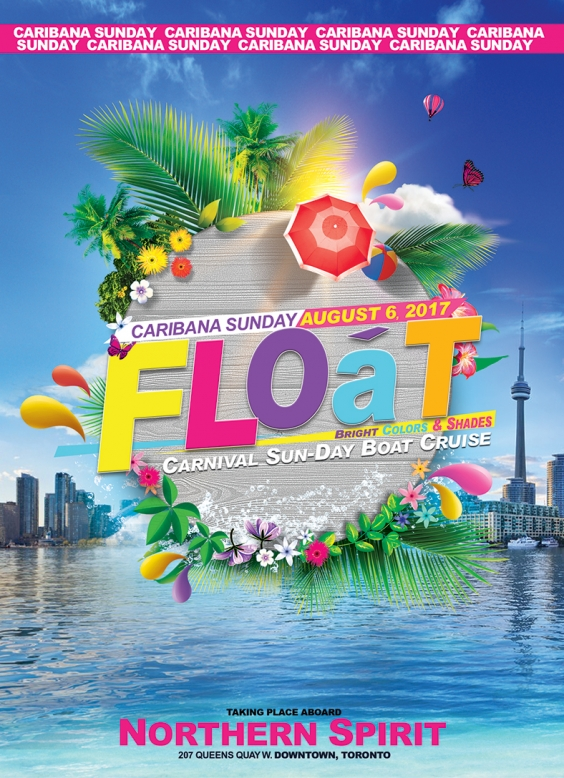 *FLOAT 2017 - Bright Colors & Shades Boat Cruise