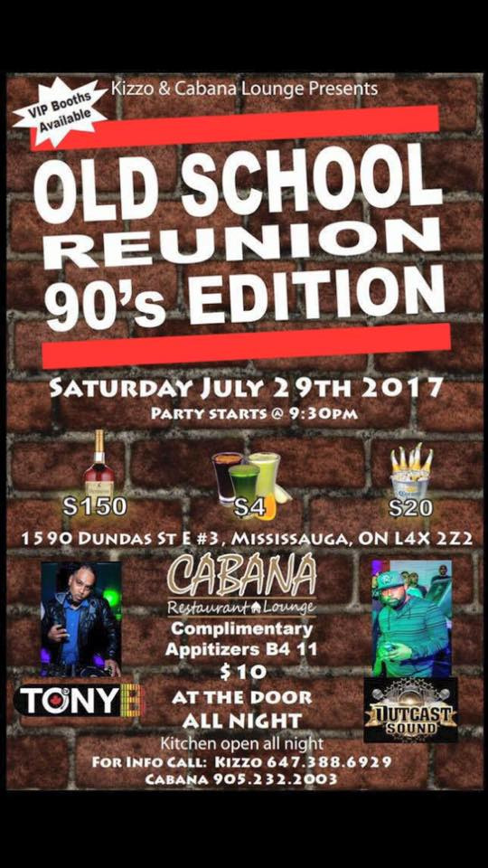 OLD SCHOOL REUNION 90S EDITION