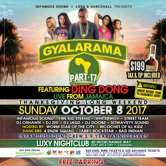 Gyalarama Feat. Ding Dong Live From Jamaica