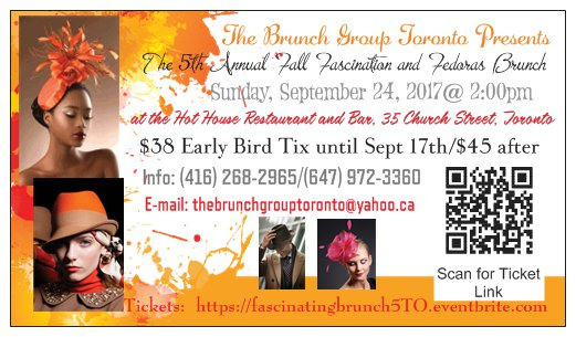 The 5th Annual Fall Fascination and Fedoras Brunch