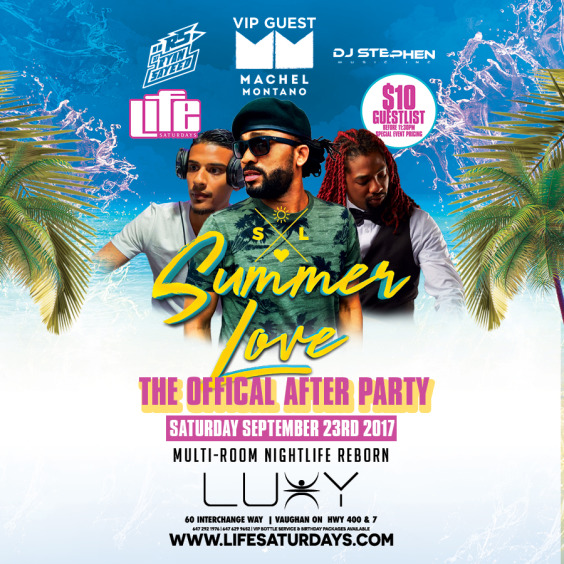 *The Official SUMMER LOVE Afterparty
