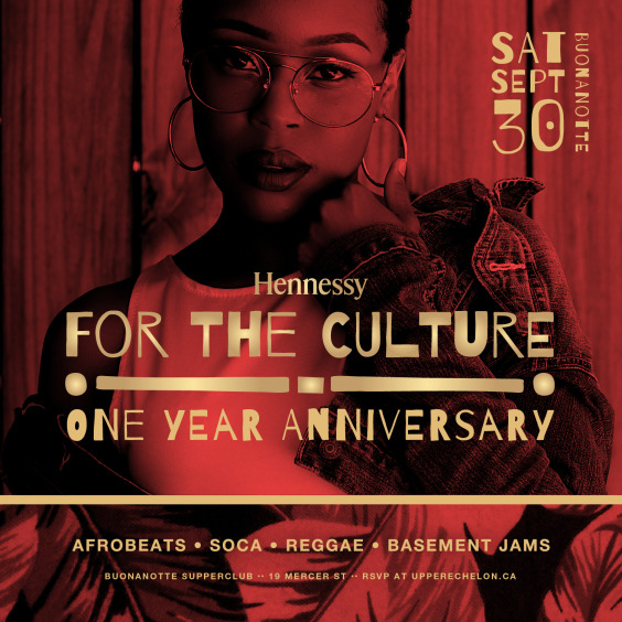 FOR THE CULTURE | 1 Year Anniversary Party