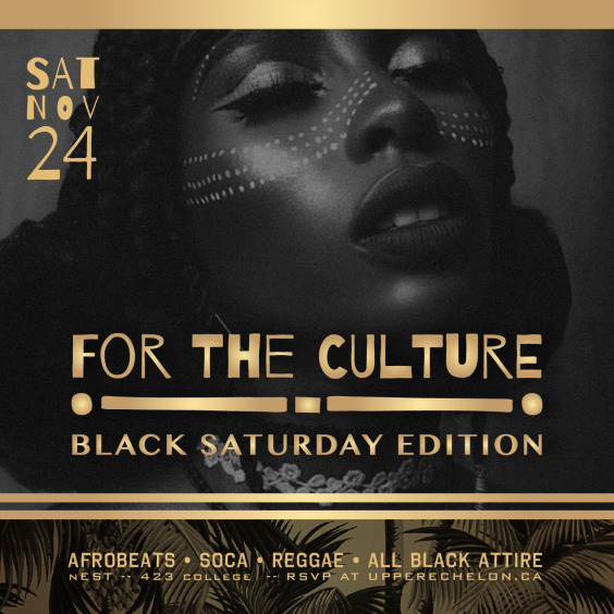 For The Culture | All Black Edition ft D Bandit