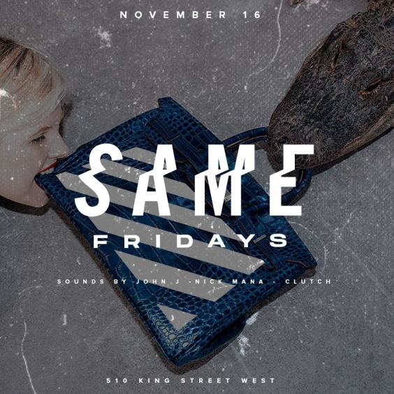HIP HOP + RNB + REGGAE @SAME NIGHTCLUB