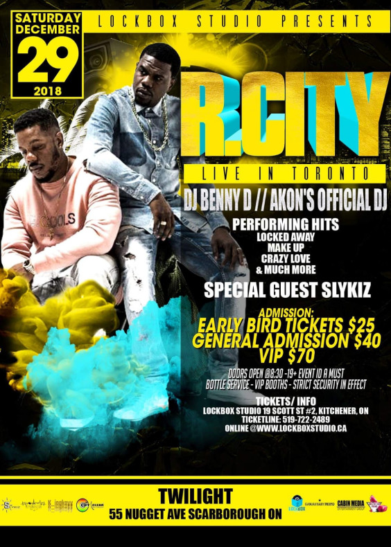 R.CITY GTA TOUR with DJ BENNY D // AKON\'s Official DJ