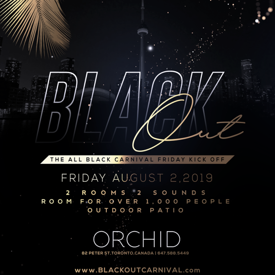 BLACK OUT 2019 - The Carnival Kick Off Party