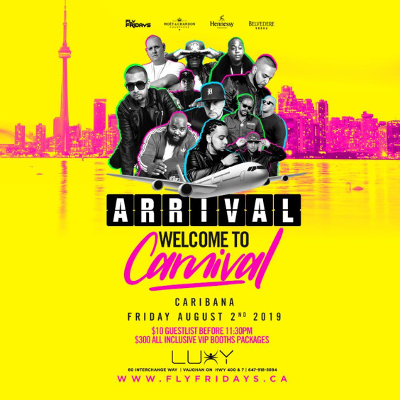 *ARRIVAL - Welcome To Carnival 2019