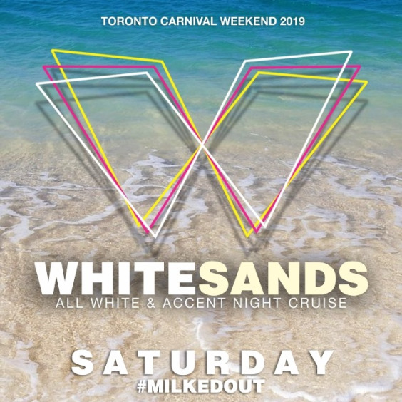 WhiteSands Carnival Saturday Night Cruise 2019 ~ Wear White - Accent your Style w/ Colour