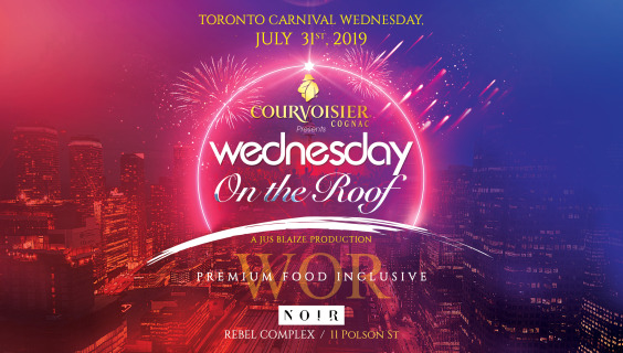 COURVOISIER Presents: The Evolution of... WEDNESDAY ON THE ROOF