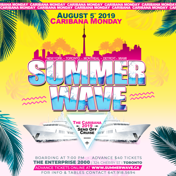 *SUMMER WAVE Boat Cruise
