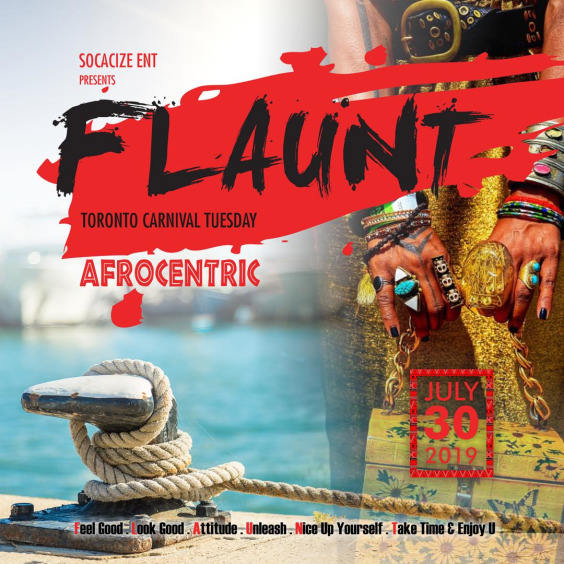 FLAUNT Annual Boatride