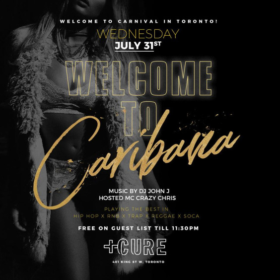 WELCOME TO CARIBANA - FREE GUESLIST