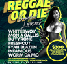 *FLY FRIDAYS - REGGAE OR DIE