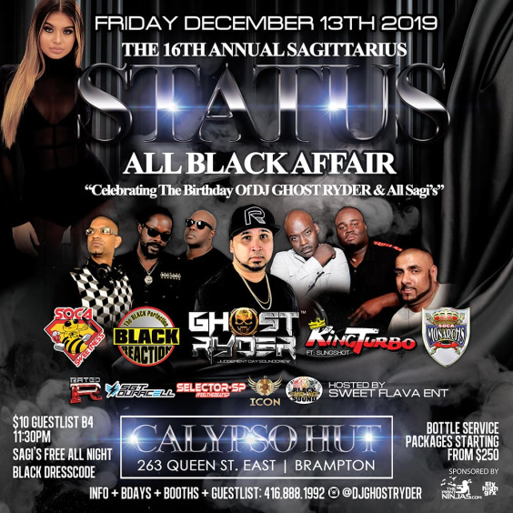 STATUS ALL BLACK AFFAIR