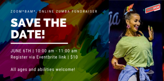 Zoom*BAM*! Zumba Fundraiser in Support of Youth Speak