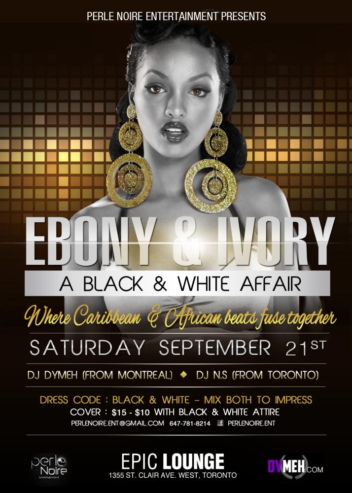 ebony  u0026 ivory  a black u0026white affair