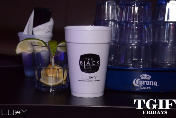 TGIF FRIDAYS - BLACK LABEL