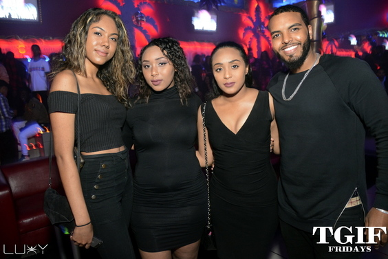 TGIF FRIDAYS - BLACKOUT 2017 INSIDE LUXY NIGHTCLUB