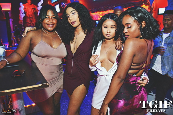 TGIF FRIDAYS - DANCHEHALL DIARIES INSIDE LUXY NIGHTCLUB