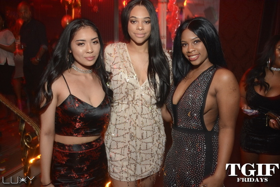 TGIF FRIDAYS - THE GYALLERY INSIDE LUXY NIGHTCLUB