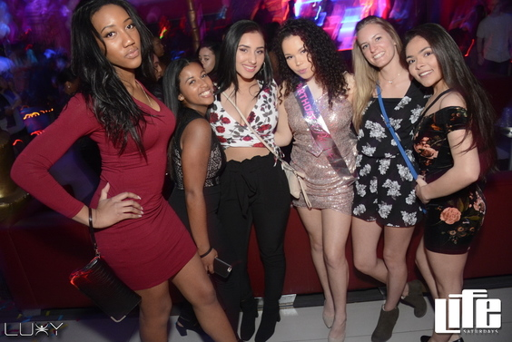 LIFE SATURDAYS - MARCH MADNESS INSIDE LUXY NIGHTCLUB