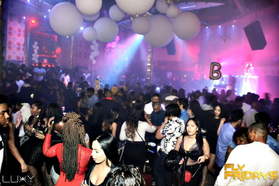 FLY FRIDAYS - NEW FLY INSIDE LUXY NIGHTCLUB