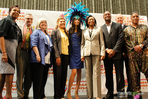 Toronto's Caribbean Carnival Media Launch